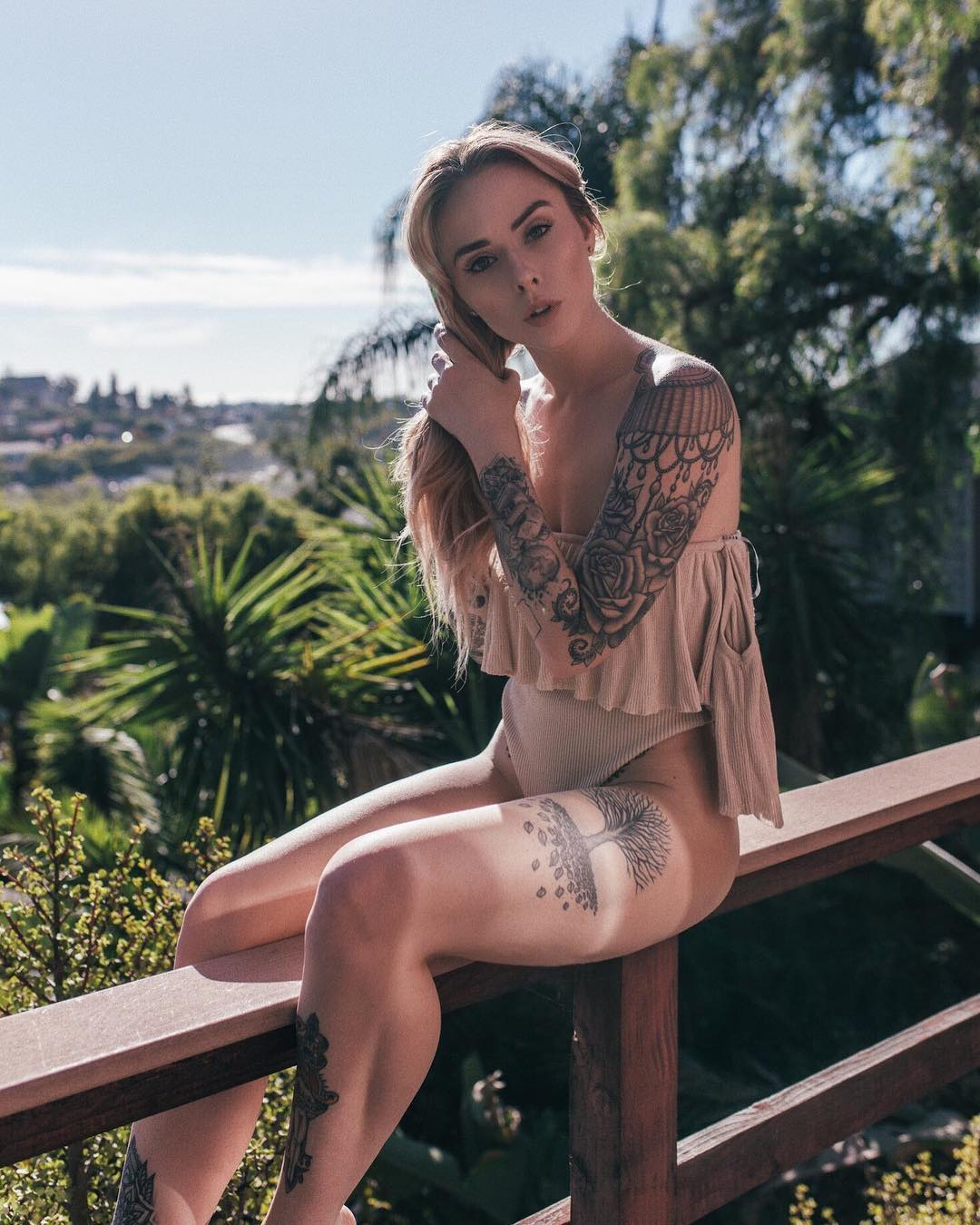 ALYSHA NETT TATTOO MODEL