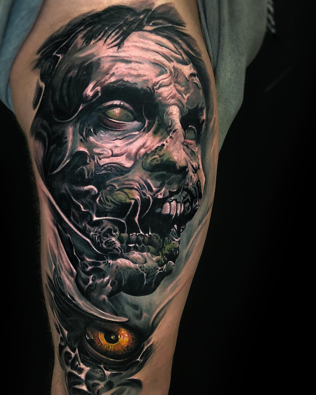 Horrors Tattoo - Zombies