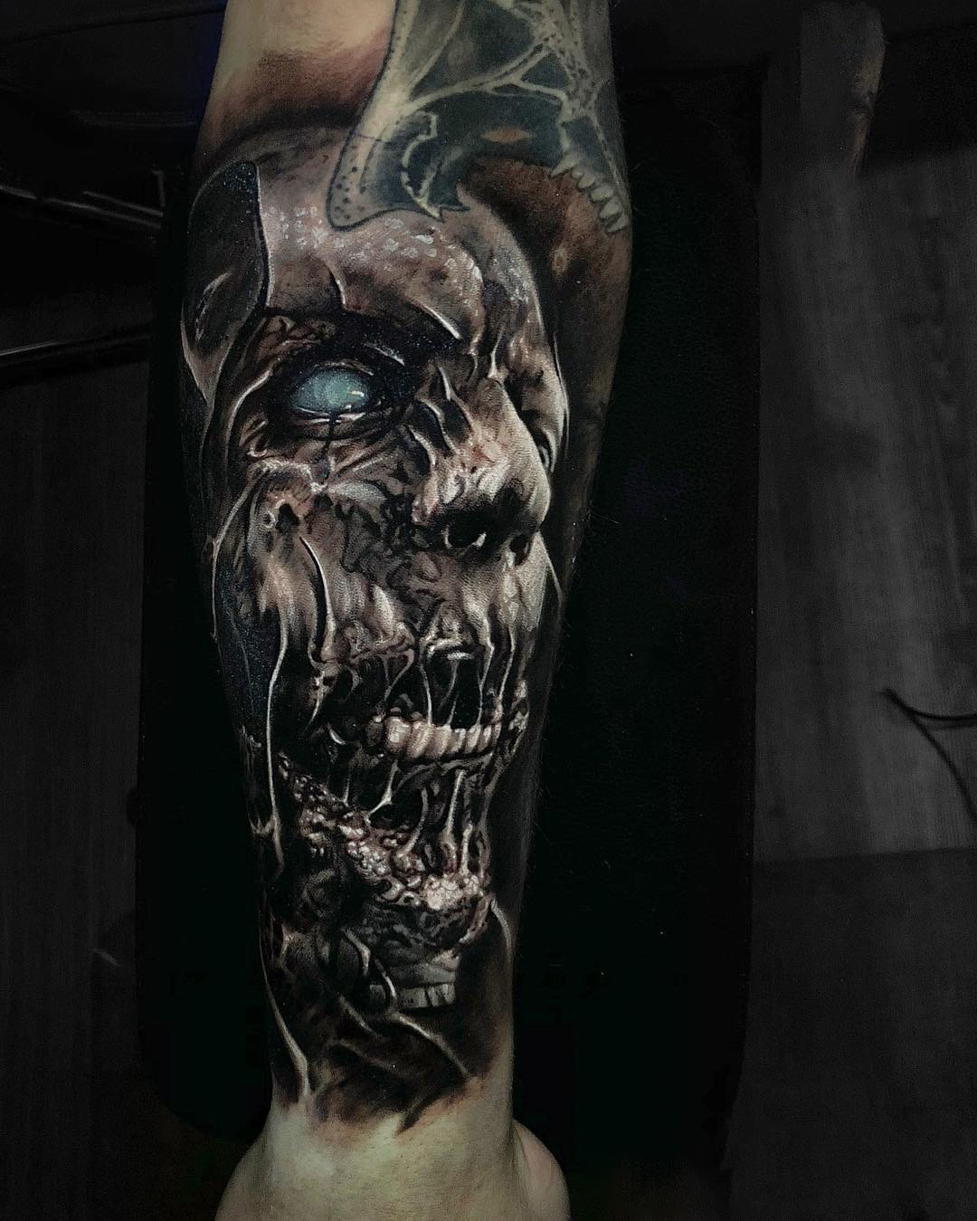 Scary Tattoo - Zombies