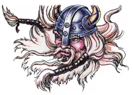 Sketch for Viking tattoo
