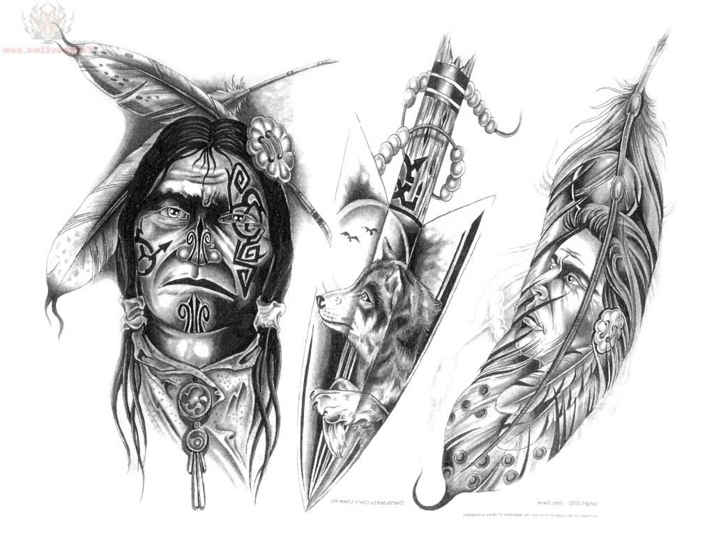 Native American Tattoo Ideas Native American Tattoos Tattoes Idea  - Tattoo Body