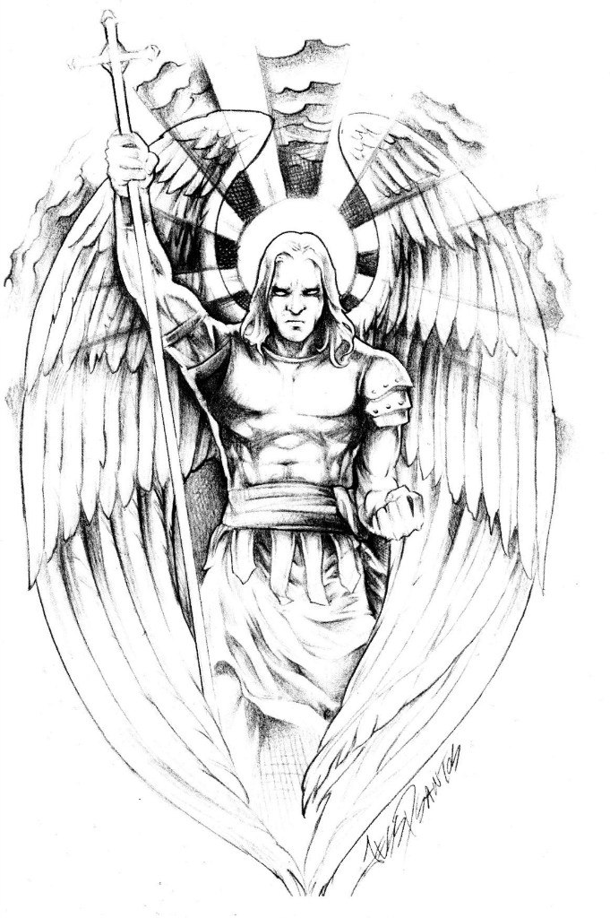 Sketch of the Archangel