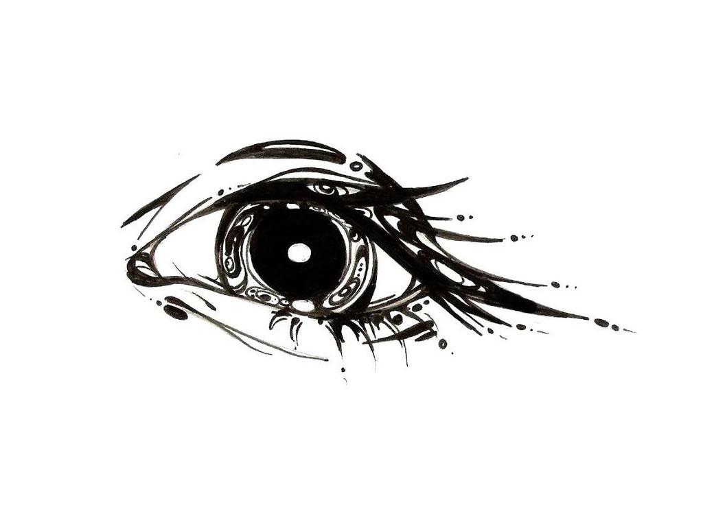Sketch of the Eye