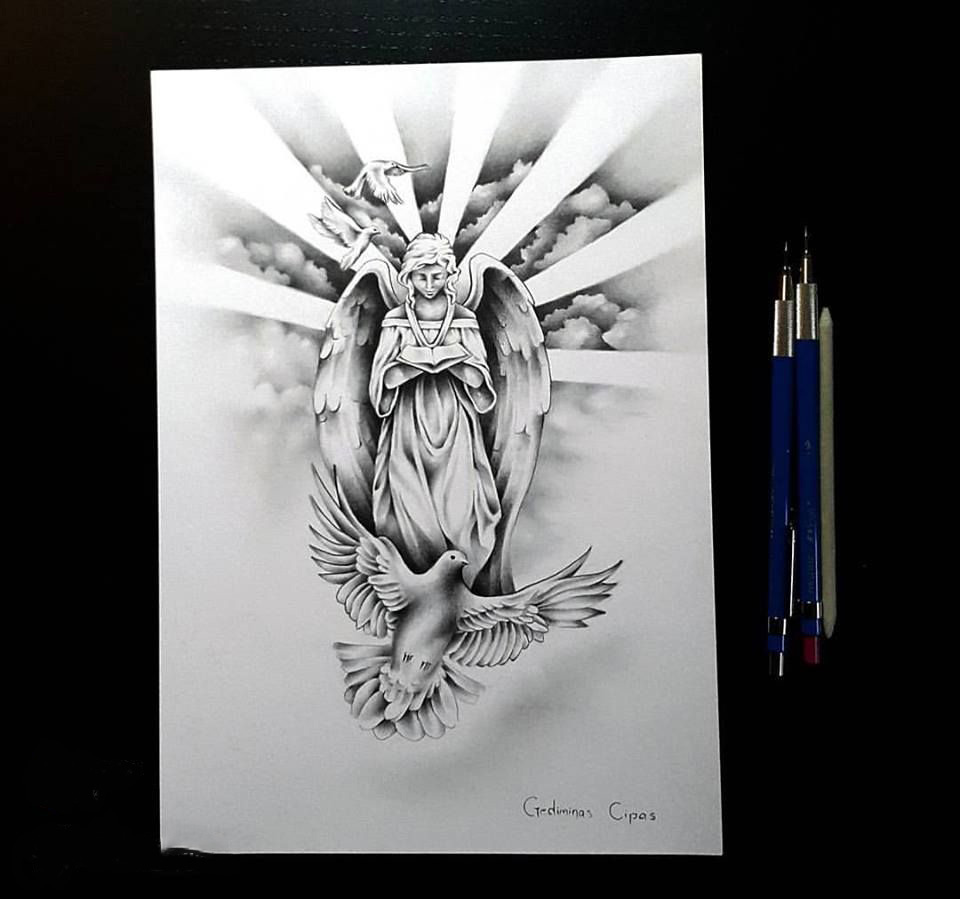 Sketch of the Angel