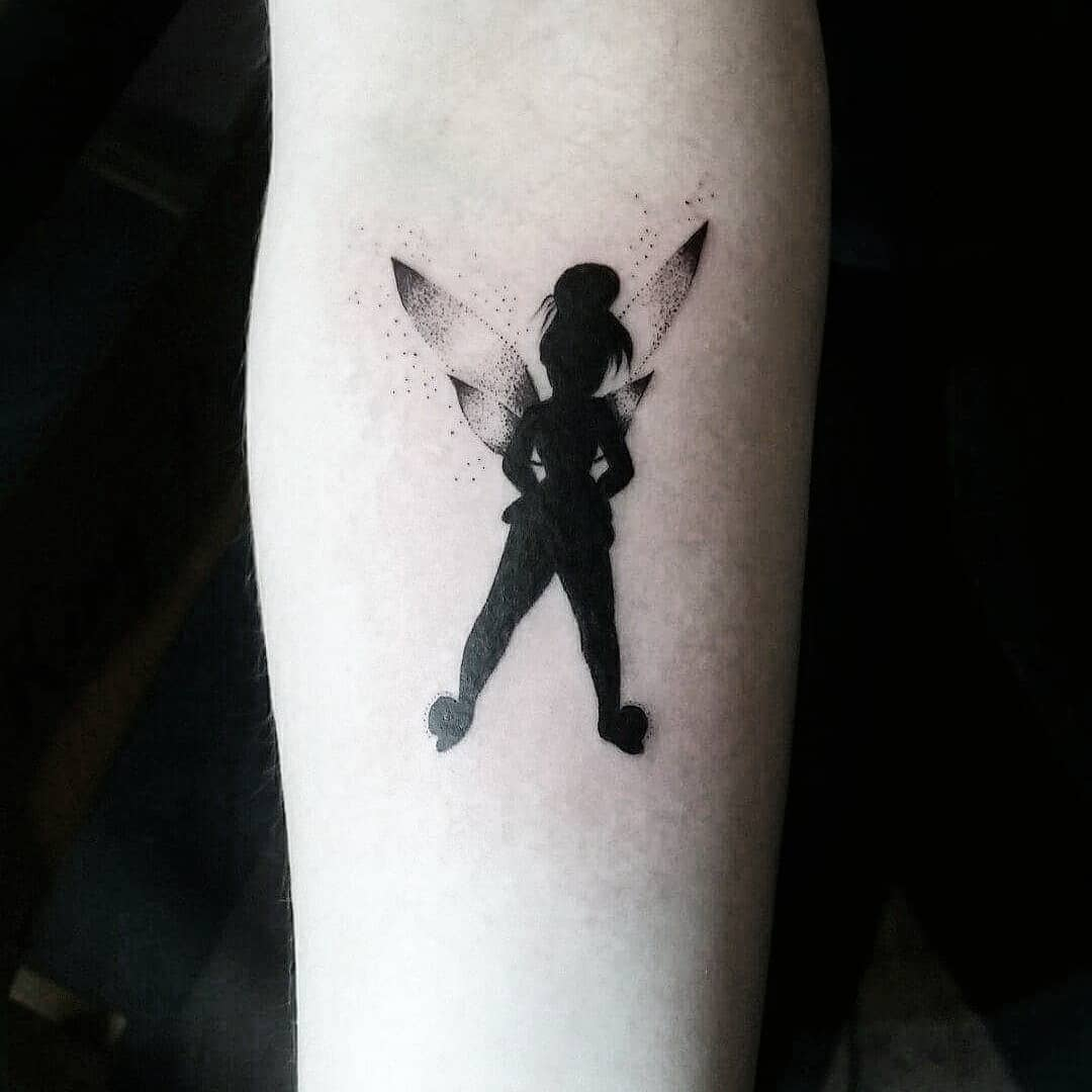 sketch of a tattoo - fairy