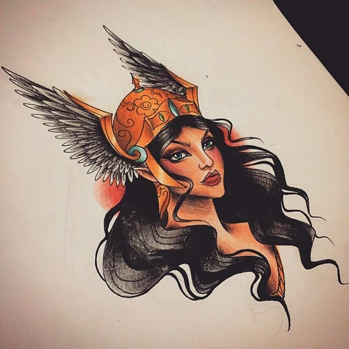Sketch of a tattoo - amazon