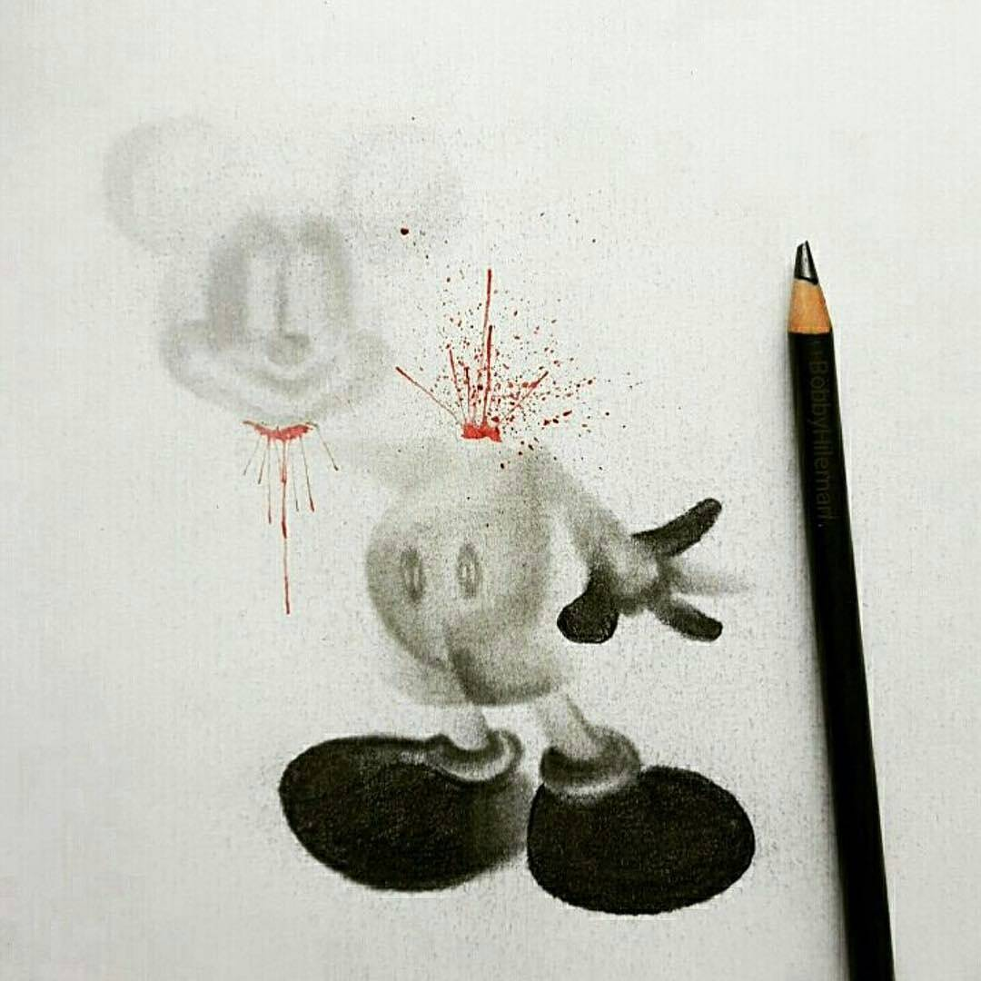 Mickey Mouse Without a Head