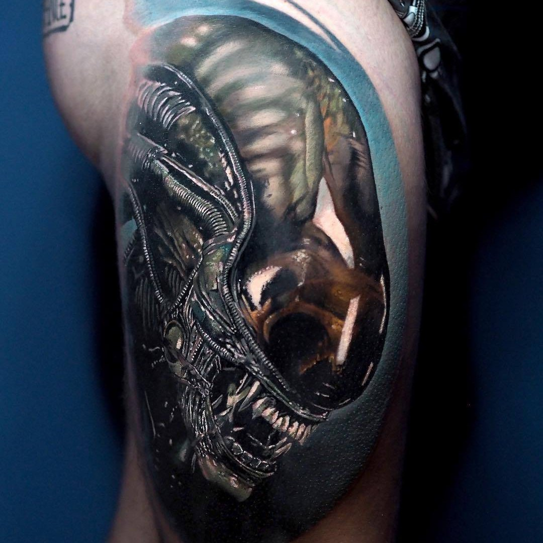 Alien Tattoo
