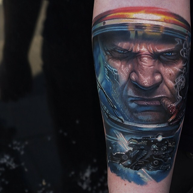 Tattoo player from the game Warcraft