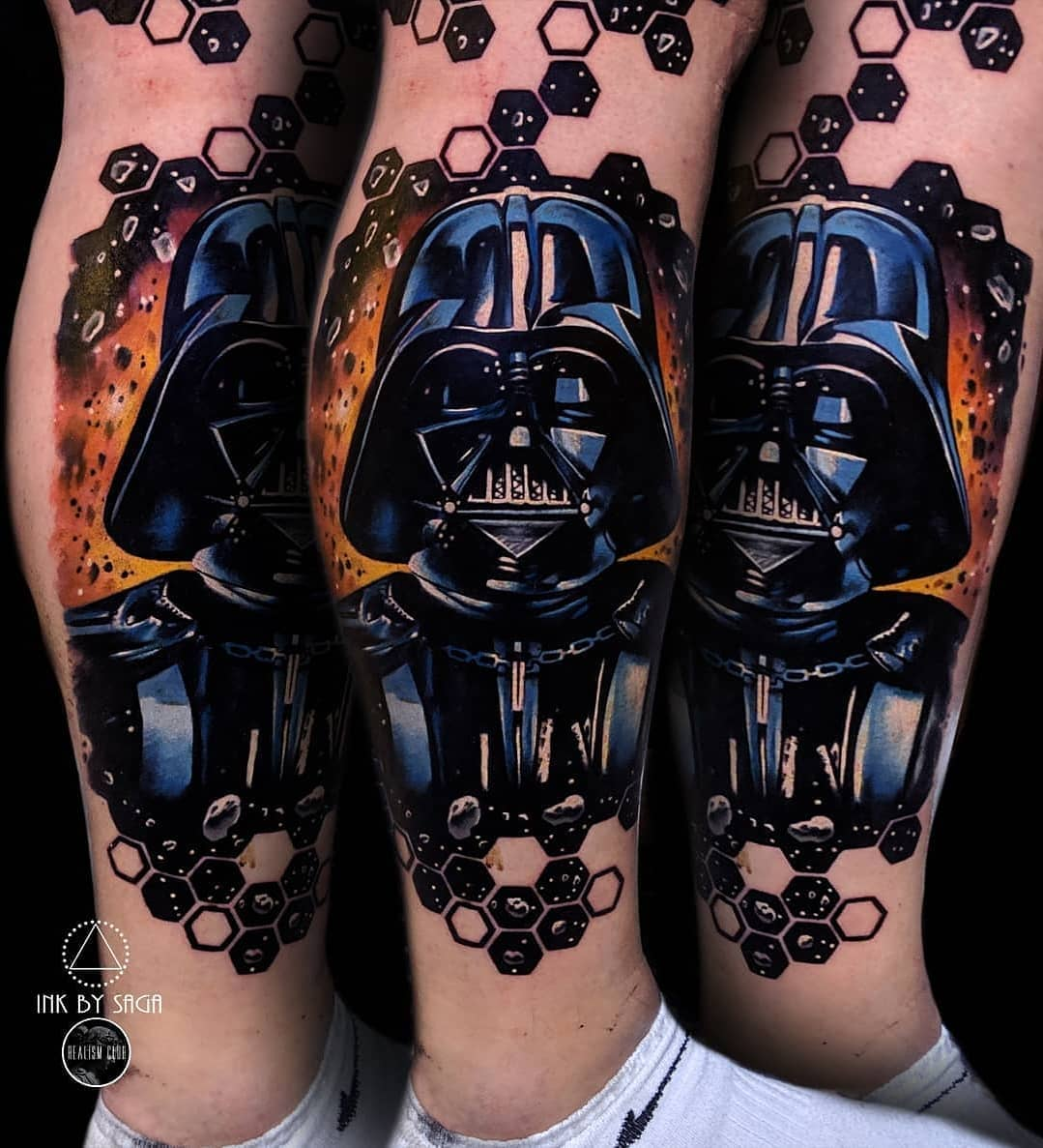 Tattoo on foot: Star Wars