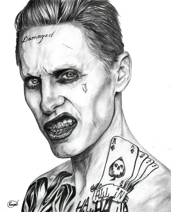 Joker Sketch for Your Tattoo